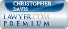 Christopher Anthony Davis  Lawyer Badge