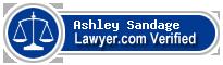Ashley E Sandage  Lawyer Badge
