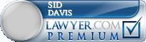 Sid Davis  Lawyer Badge
