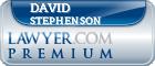 David J. Stephenson  Lawyer Badge