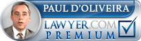 Paul A. d'Oliveira  Lawyer Badge