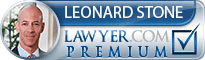 Leonard H. Stone  Lawyer Badge