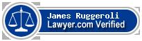 James J. Ruggeroli  Lawyer Badge
