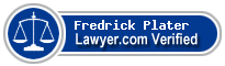 Fredrick Oliver Plater  Lawyer Badge