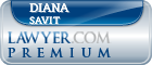 Diana M Savit  Lawyer Badge