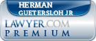 Herman Gerhard Guetersloh Jr  Lawyer Badge