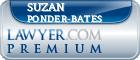 Suzan Kay Ponder-bates  Lawyer Badge