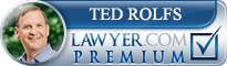 Ted Rolfs  Lawyer Badge
