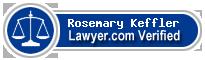 Rosemary Joan Keffler  Lawyer Badge