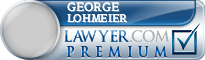 George Arno Lohmeier  Lawyer Badge