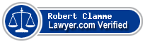 Robert Allen Clamme  Lawyer Badge
