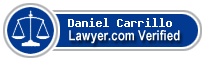 Daniel Carrillo  Lawyer Badge