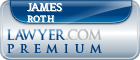 James Francis Roth  Lawyer Badge
