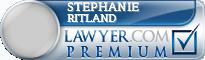 Stephanie Ritland  Lawyer Badge