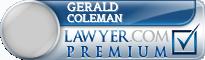 Gerald Allen Coleman  Lawyer Badge