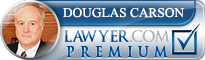 Douglas M. Carson  Lawyer Badge