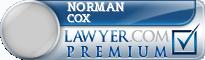 Norman Glenn Cox  Lawyer Badge