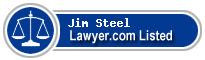 Jim Steel Lawyer Badge