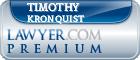 Timothy Erick Kronquist  Lawyer Badge