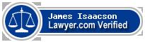 James M. Isaacson  Lawyer Badge