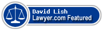 David Paul Lish  Lawyer Badge