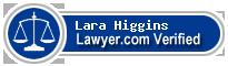 Lara Monica Czajkowski Higgins  Lawyer Badge