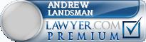 Andrew C. Landsman  Lawyer Badge