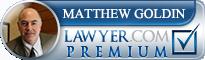 Matthew L. Goldin  Lawyer Badge