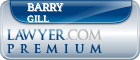 Barry P. Gill  Lawyer Badge