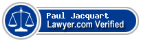 Paul R. Jacquart  Lawyer Badge