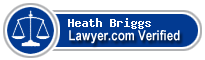 Heath Jarrod Briggs  Lawyer Badge