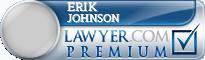 Erik C. Johnson  Lawyer Badge