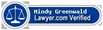 Mindy Greenwald  Lawyer Badge