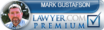 Mark D. Gustafson  Lawyer Badge