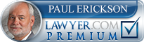 Paul R. Erickson  Lawyer Badge