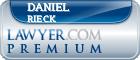 Daniel J. Rieck  Lawyer Badge