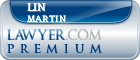 Lin Martin  Lawyer Badge