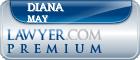 Diana Kay May  Lawyer Badge