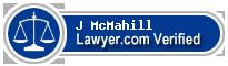 J Brian McMahill  Lawyer Badge