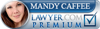 Mandy L. Caffee  Lawyer Badge