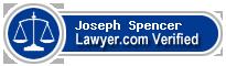 Joseph W. Spencer  Lawyer Badge