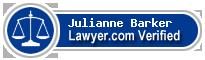 Julianne Barker  Lawyer Badge
