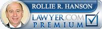 Rollie Hanson  Lawyer Badge
