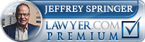 Jeffrey A. Springer  Lawyer Badge