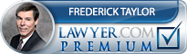 Frederick F Taylor  Lawyer Badge