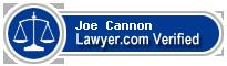 Joe A. Cannon  Lawyer Badge