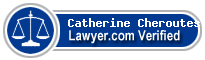 Catherine J. Cheroutes  Lawyer Badge
