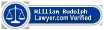 William H. Rudolph  Lawyer Badge