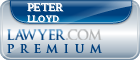 Peter C. Lloyd  Lawyer Badge
