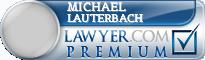 Michael J. Lauterbach  Lawyer Badge
